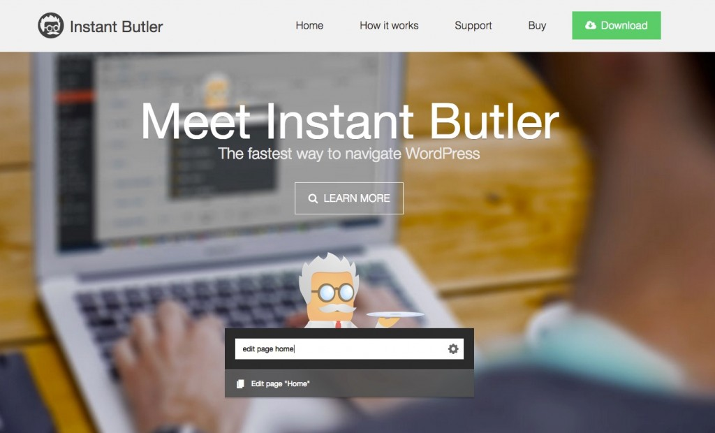 Instant Butler for WordPress