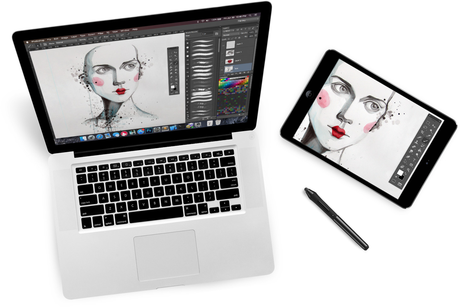Astropad - Transform your iPad into a professional graphics tablet - @mwender