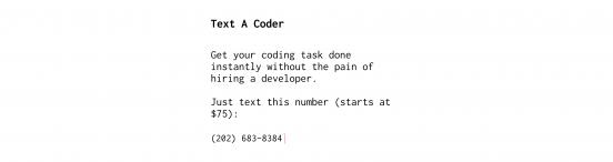 text-a-coder